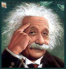 Bilde av Einstein som symboliserer Smart Repair hos Bilkosmetikk