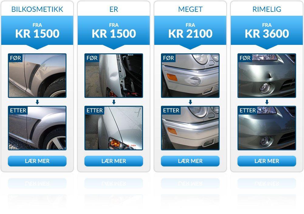 priser hos bilkosmetikk